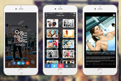 #4 for Simple Fitness-Photo-App design af ankisethiya