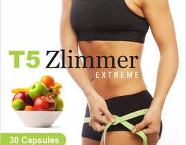 creazinedesign tarafından design a label for some diet pills called T5 Zlimmer için no 12