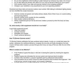 #10 for Content Writing for 1 page eBay advert - product called T5 Zlimmer by ChatterjeeA
