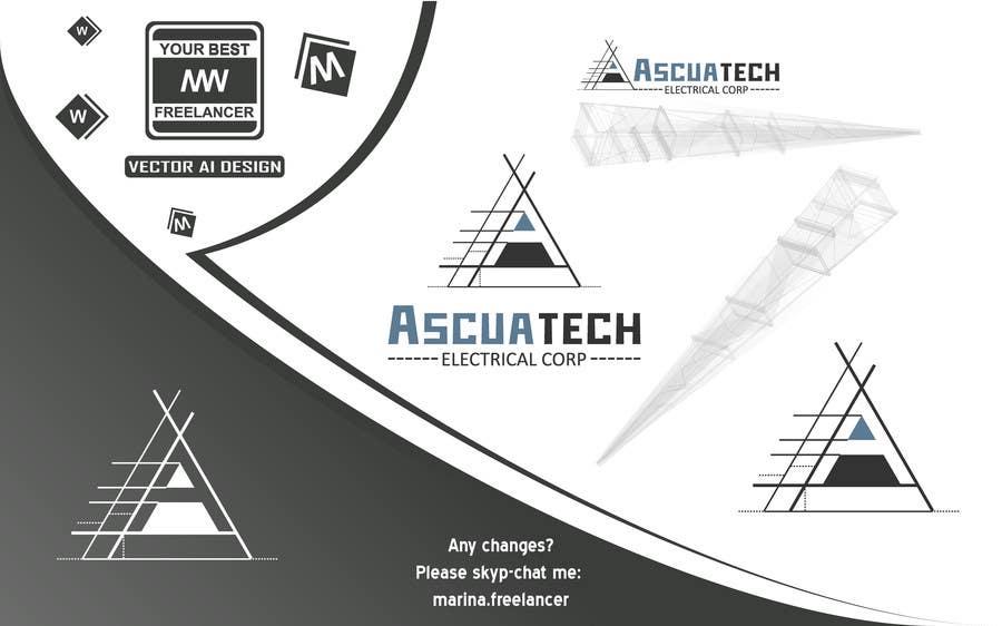 Kilpailutyö #9 kilpailussa Diseñar un logotipo  Ascuatech Electrical Corp.
