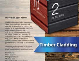 #39 untuk Design an Advertisement for Timber Cladding oleh Aleshander