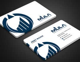 #204 para Design some Business Cards for MULA por Derard