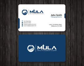 #10 for Design some Business Cards for MULA by mdreyad