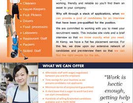 #8 cho Design a Brochure for my employment agency bởi jobdone7nice