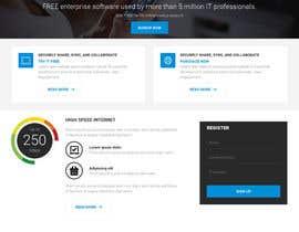Nro 2 kilpailuun Design a Website Mockup for a single page website käyttäjältä websoft07