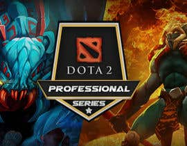 #25 for Design a Banner and logo for ES1 DOTA 2 Pro Series af nicogiudiche