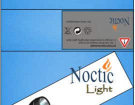 #6 para Create Print and Packaging Designs for Noctic Light (flashlight) por mukundrathi2905