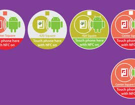 #8 cho Design a sticker with the android robot and my logo bởi mWaqasShah