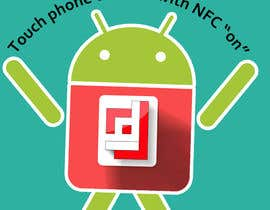 #3 cho Design a sticker with the android robot and my logo bởi camorim