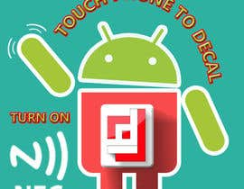 #7 cho Design a sticker with the android robot and my logo bởi camorim
