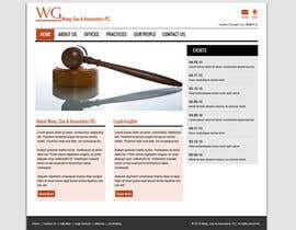 #1 untuk Create a Wordpress Template for a lawfirm oleh dhudsons