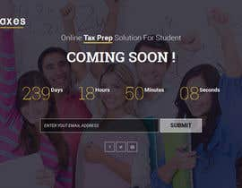 #19 para Design a Website 1-page Mockup for StudentTaxes.com por websoft07