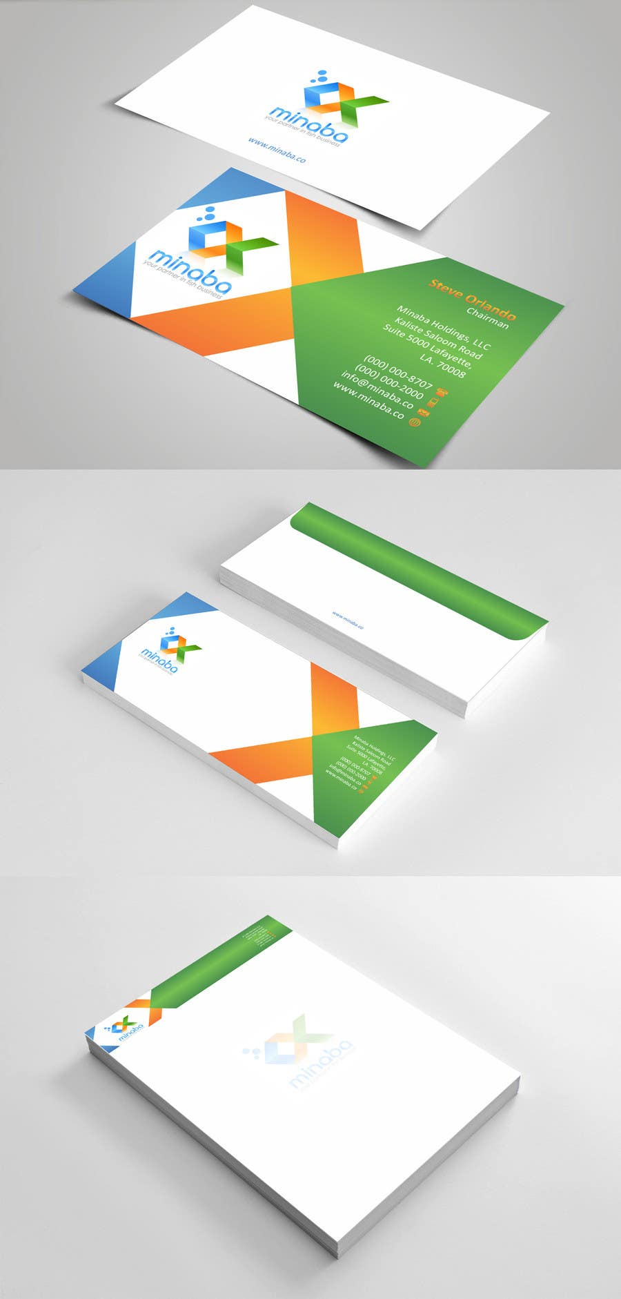 Contest Entry #31 for business card, letterhead, invoice