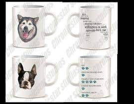 #3 untuk Coffee mug with a picture of my dog oleh hchron28