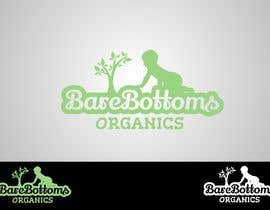 """#13 for Design a Logo for organic baby company """"Bare Bottoms Organics"""". by Attebasile"""