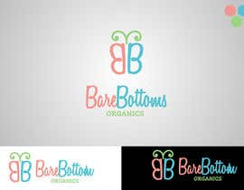 "#21 untuk Design a Logo for organic baby company ""Bare Bottoms Organics"". oleh Attebasile"