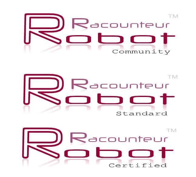 Inscrição nº 8 do Concurso para Design 3 Logos for Robot Raconteur