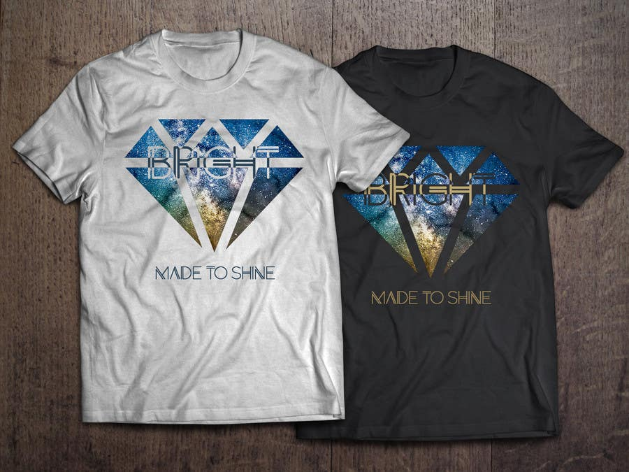 Konkurrenceindlæg #12 for Design a 'Made To Shine' T-Shirt for a Christian Rock Band