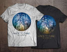 plusARHS tarafından Design a 'Made To Shine' T-Shirt for a Christian Rock Band için no 21