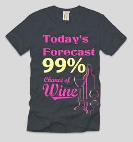 Nro 15 kilpailuun Design a Wine based T-Shirt Tee käyttäjältä ezaz09