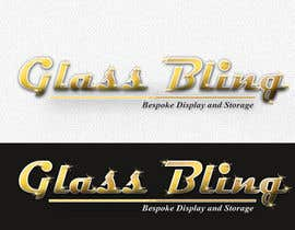 #136 para Logo Design for Glass-Bling Taupo de niwrek