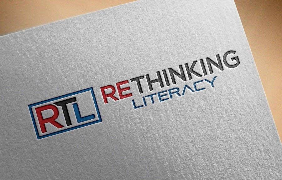 Penyertaan Peraduan #82 untuk Design a Logo for reThinking Literacy Conference