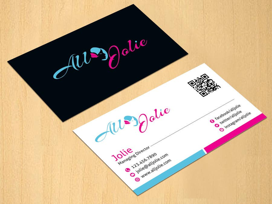 Entry 29 By Dinesh0805 For Design Some Business Cards For My Hair
