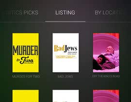 #33 untuk Design an App Mockup for Theatre Search oleh JDLA