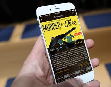#22 untuk Design an App Mockup for Theatre Search oleh ankisethiya