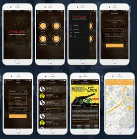 #26 untuk Design an App Mockup for Theatre Search oleh ankisethiya