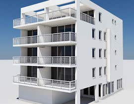 Decomex tarafından Design a floorplan and exterior facade for an apartment building için no 7