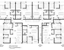 #4 untuk Design a floorplan and exterior facade for an apartment building oleh pladkani