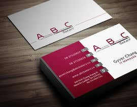 #55 cho Design some Business Cards for ABC Bakery bởi Fgny85