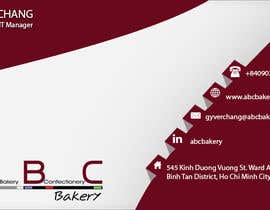 #30 cho Design some Business Cards for ABC Bakery bởi anandsalat