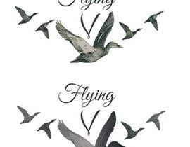 Nro 17 kilpailuun Flying V wine lable käyttäjältä desviocreativo