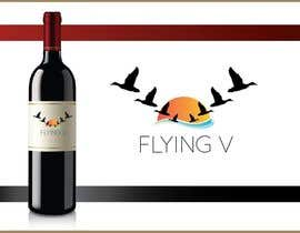 #13 for Flying V wine lable by vivekdaneapen