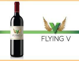 Nro 15 kilpailuun Flying V wine lable käyttäjältä vivekdaneapen
