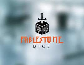 #17 untuk Design a Logo for Fablestone Dice - Fantasy roleplaying theme oleh FxZone