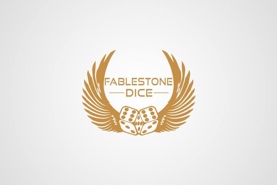 Penyertaan Peraduan #20 untuk Design a Logo for Fablestone Dice - Fantasy roleplaying theme