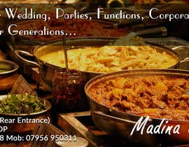 #5 cho Design a Banner for Madina Catering bởi jituchoudhary