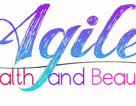 """#45 untuk Design a small logo with text """"Agile Health and Beauty"""" - 120x30 px oleh arsh8singhs"""