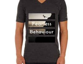 #35 para Design a T-Shirt for Fearlessonexxx por Muqeemdesigner