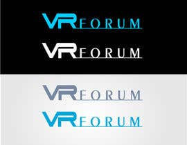 #17 cho Design a Logo for VR Forum bởi stoilova