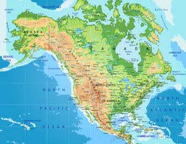 #18 cho Map of the world or map of the USA bởi hansa02