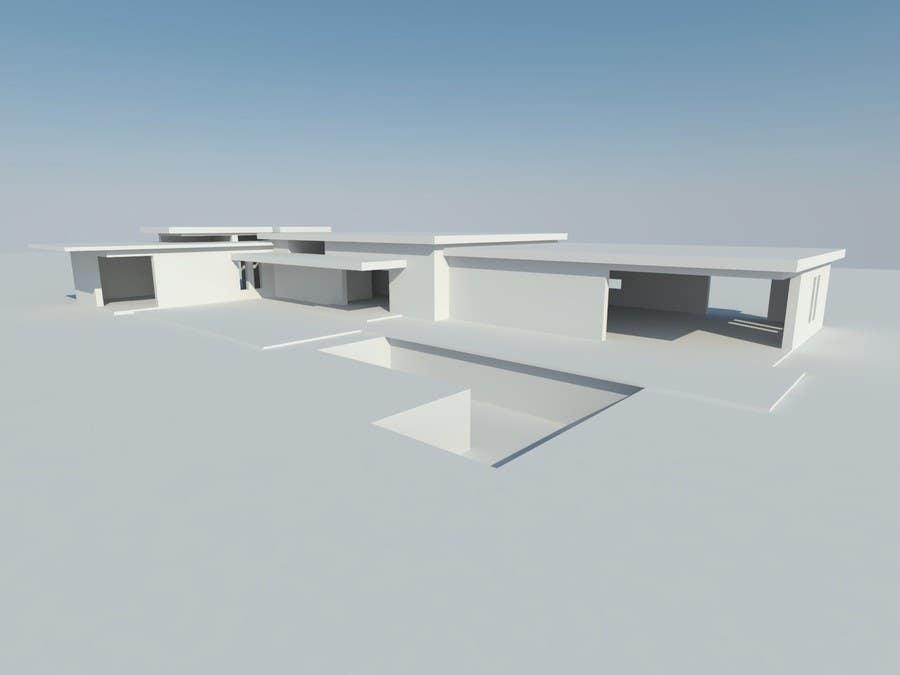 Penyertaan Peraduan #7 untuk Luxury Residential Home Design (Concept)