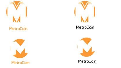 sridha858 tarafından Design a Logo for Metrocoin için no 27
