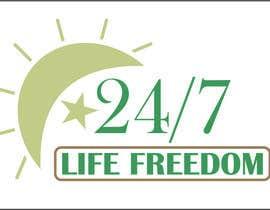 """Nro 55 kilpailuun Design a Logo for """"24/7 Life Freedom"""" käyttäjältä Monucamboz"""