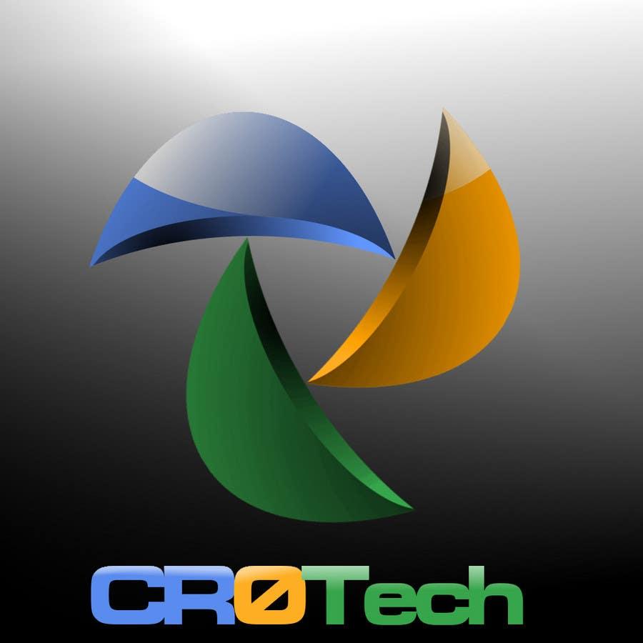 Kilpailutyö #                                        198                                      kilpailussa                                         Logo Design for CR0Tech