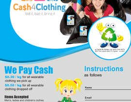 #20 untuk Design a Flyer for Cash4Clothing oleh stylishwork