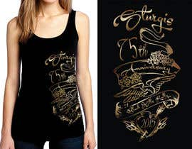 #62 for Design a (((LADIES))) T-Shirt for STURGIS 2015 75th Anniversary af WendyRV